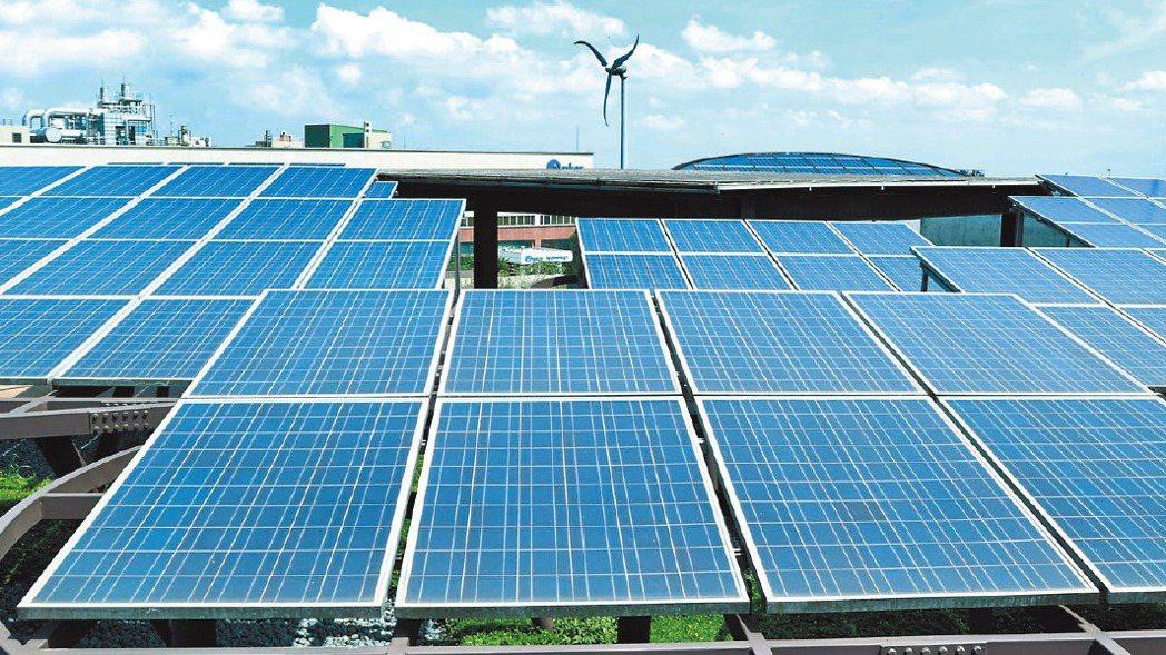 伴隨美國市場需求快速升溫,國內太陽能廠積極布局,摩拳擦掌卡位商機。報系資料照