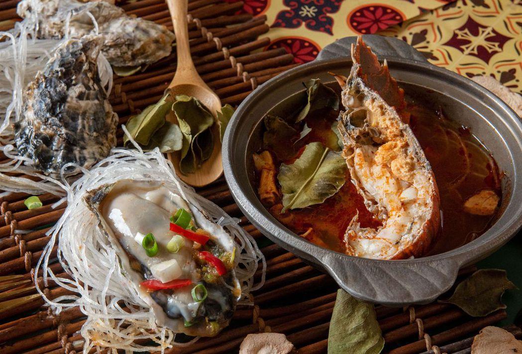 台南大飯店蝦蛄是老饕最愛,肉質肥美,假日更供應鮮甜美味的生蠔料理。   台南大飯...