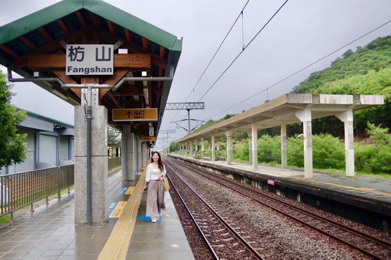 枋山是台灣最南邊的無人車站,藍皮解憂號觀光列車將安排下車導覽。圖/雄獅旅遊提供
