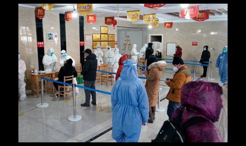 大陸黑龍江省曾於今年初爆發過疫情,如今時隔多月,疫情防控又拉警報。圖/中新社