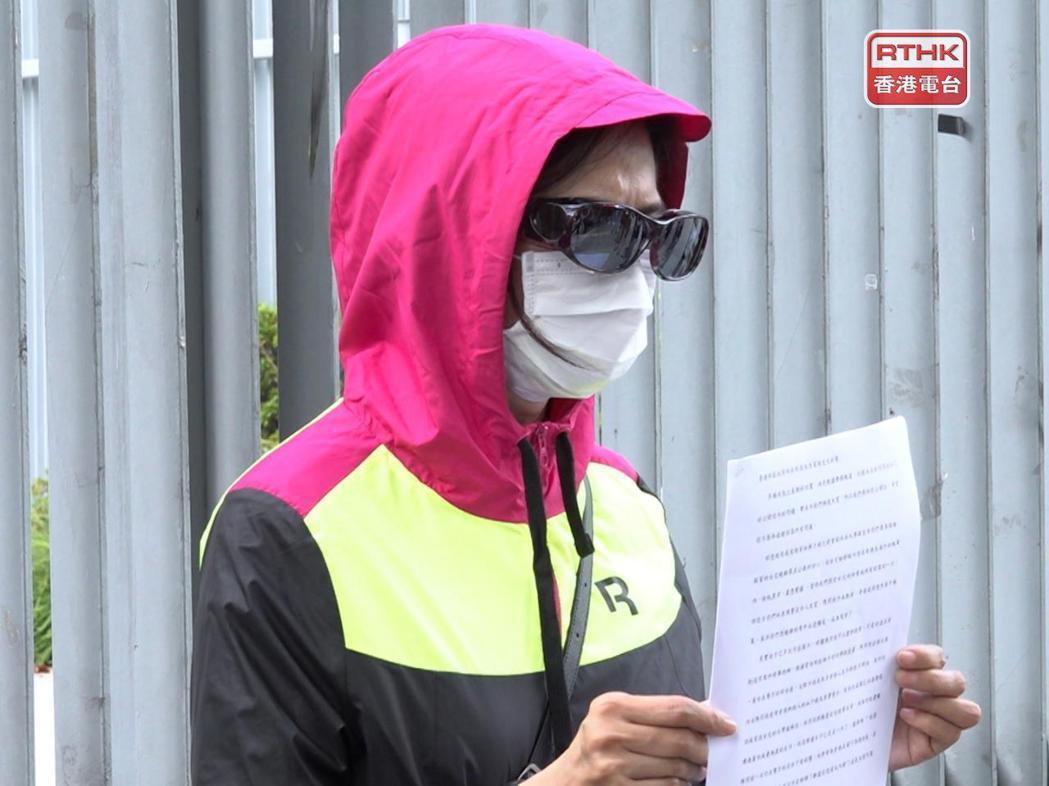 潘曉穎的母親表示,希望管浩鳴幫忙勸說各方盡快解決問題。(香港電台)