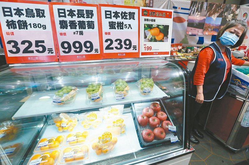 美對日本核食解禁,日本核食可否進口台灣,從來不是食品安全或者貿易障礙問題,只是單純的政治問題。圖/聯合報系資料照片