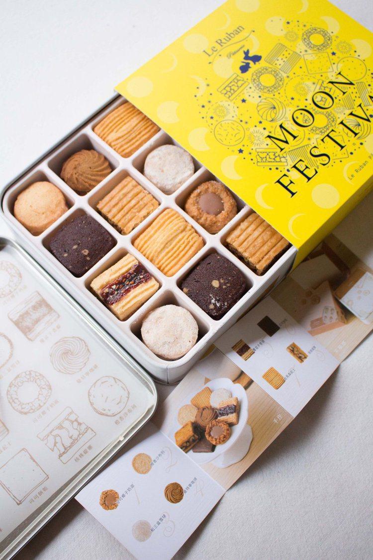 法朋的另一款經典鐵盒餅乾。圖/摘自法朋臉書粉絲頁