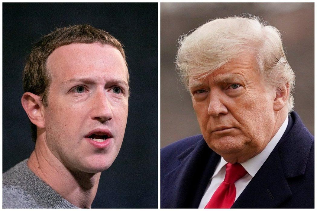 根據一本新書爆料,臉書創辦人祖克伯同意不會事實查核政治主張貼文,川普政府則以保證...