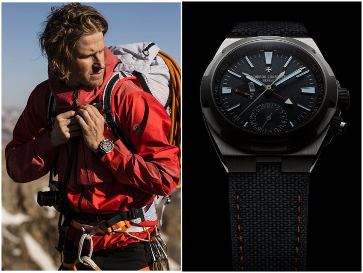 2019年,Cory Richards第三度踏上珠峰探險之旅,當時便曾戴上江詩丹...