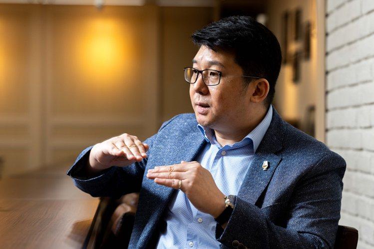 張郁嵐於2015至2020年期間,連續6年擔任IWSC評審。記者沈昱嘉/攝影。