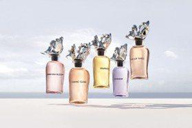 瓶蓋象徵海浪的噴濺 LV頂級香水系列新品上市