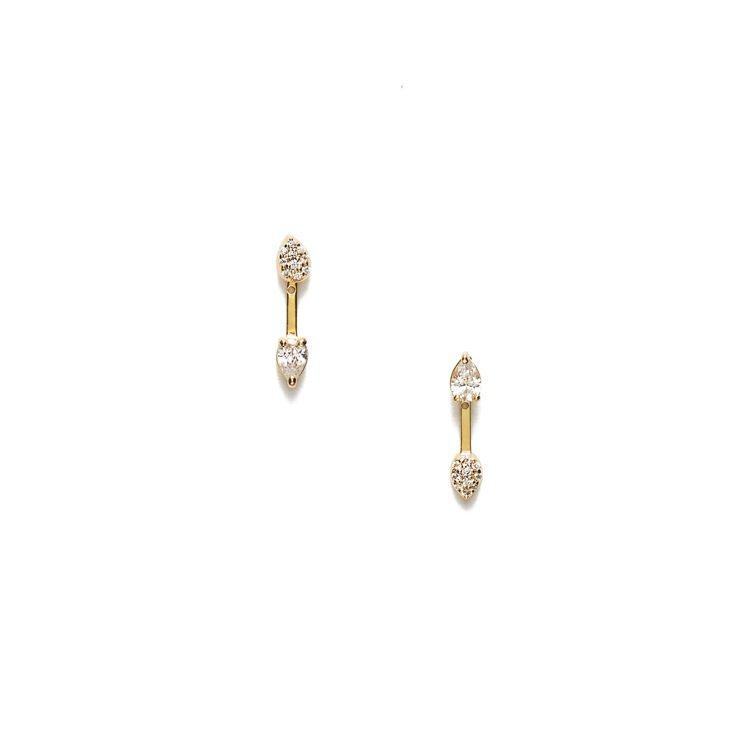 ARTISMI Tenir珍惜系列不對稱華麗寶石耳環,4,800元。圖/ARTI...