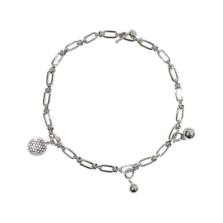 HansHsu Hedy Necklace圓球墜飾項鍊,6980元。圖/Hans...