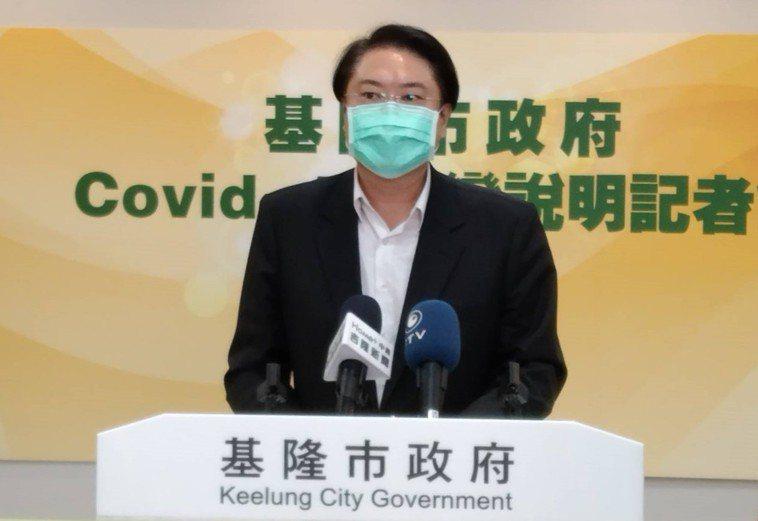 基隆市長林右昌今天公布75歲以上長輩,27、28日施打莫德納疫苗第2劑的時間和地...