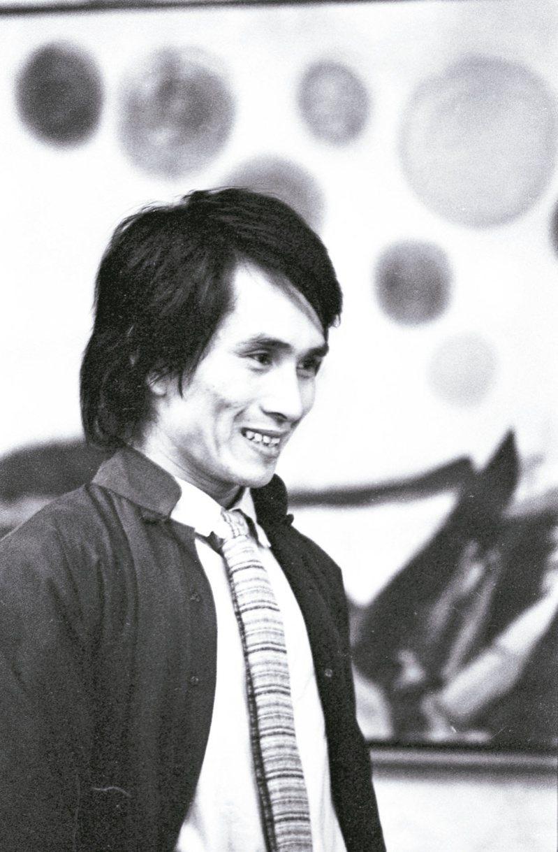 林懷民。(圖/本報資料照片,攝於1979年)