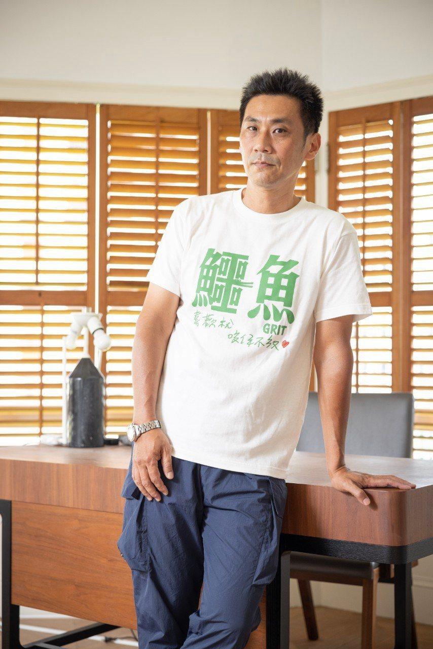 導演陳大璞找來柯震東、李心潔主演「鱷魚」,透露兩人很有火花。記者沈昱嘉/攝影