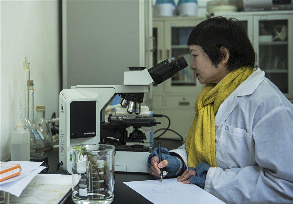 中國科學院成都山地災害與環境研究所的一名研究員。(取自人民網)
