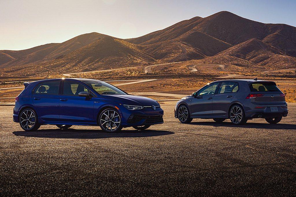 福斯汽車公布全新第八代福斯Golf美國市場銷售陣容,完全以性能車型如GTI、R為...