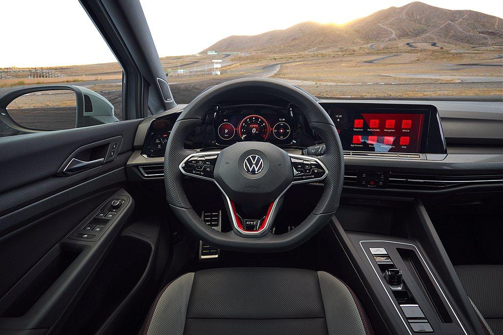 美規全新第八代福斯Golf GTI、Golf R標配Digital Cockpi...