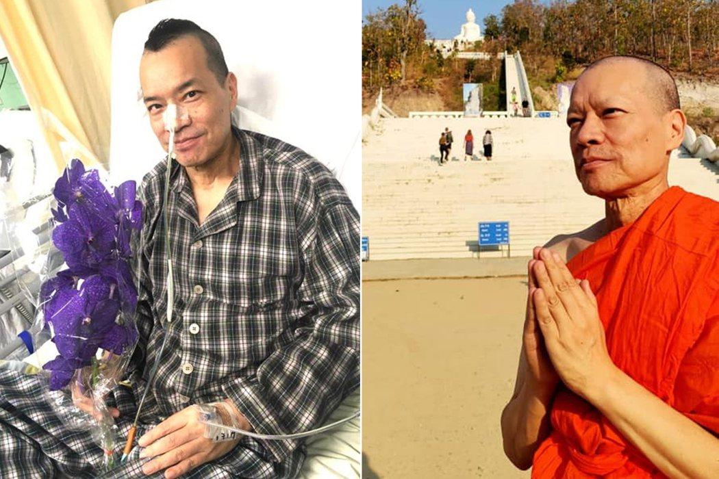 香港藝人洪朝豐曾是知名DJ。 圖/擷自facebook。