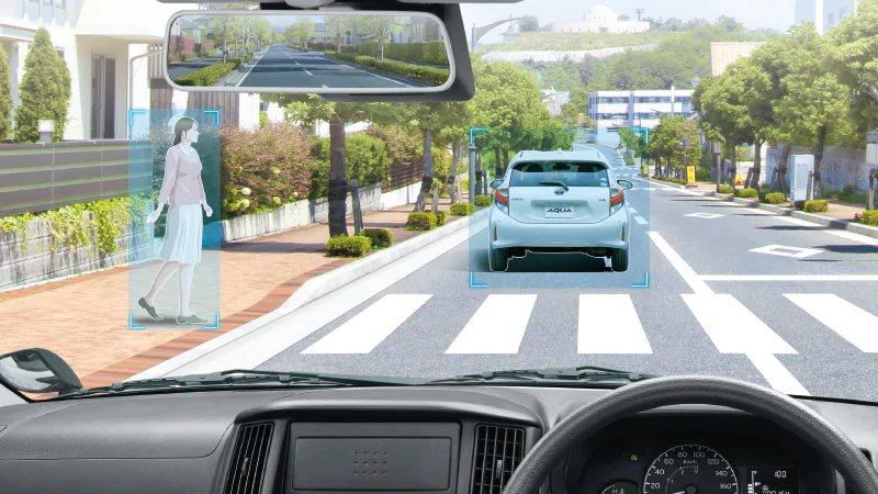 日規車型配備前方撞擊預警含自動煞車功能。 圖/TOYOTA提供
