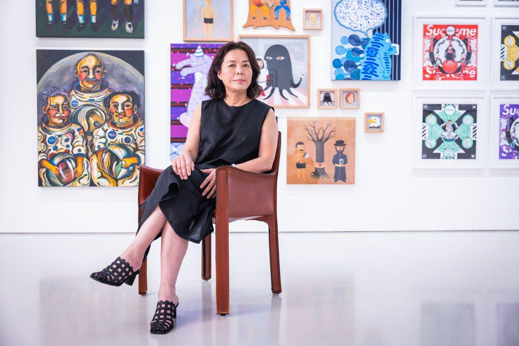 趙琍在藝廊圈34年,是台灣最資深的藝術經理人。記者沈昱嘉/攝影