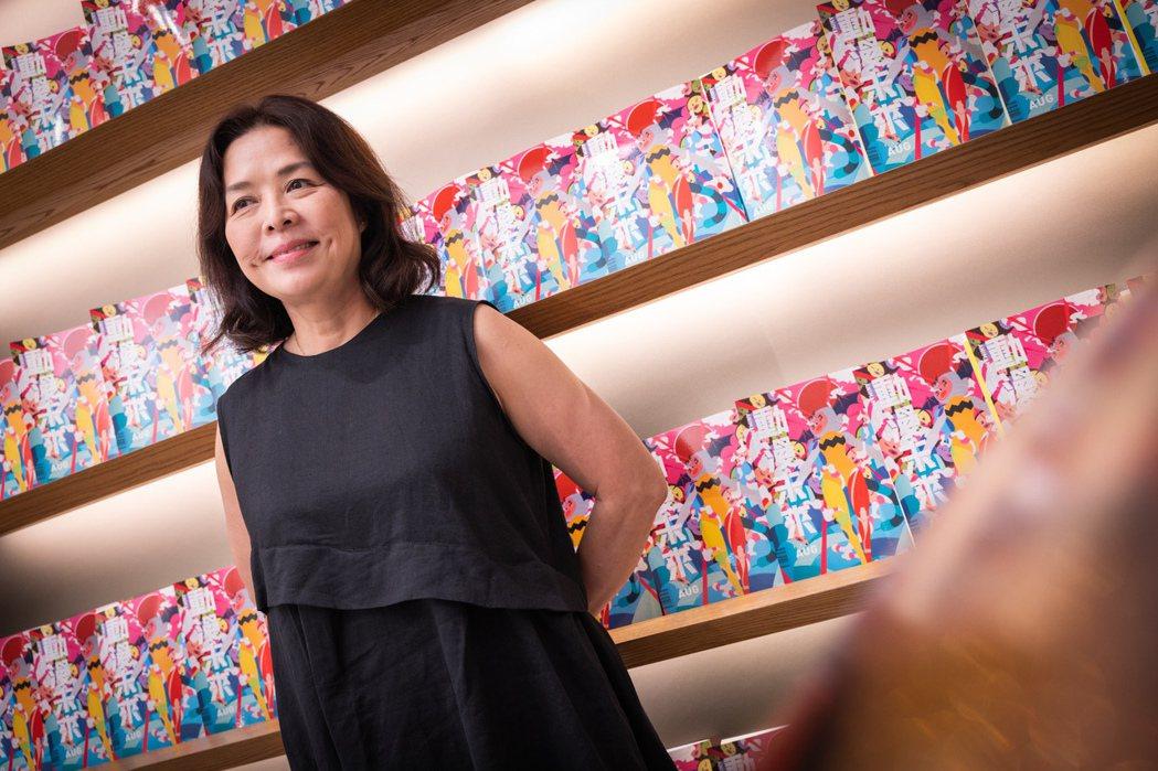 「動漫未來」是趙琍將年輕世代拉向藝術的一檔展覽。記者沈昱嘉/攝影