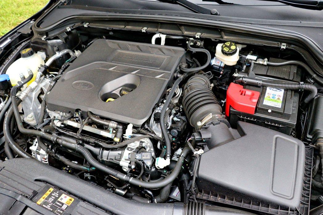 搭載1.5升三缸渦輪增壓引擎,維持182hp/ 24.5kgm的輸出表現。 記者...