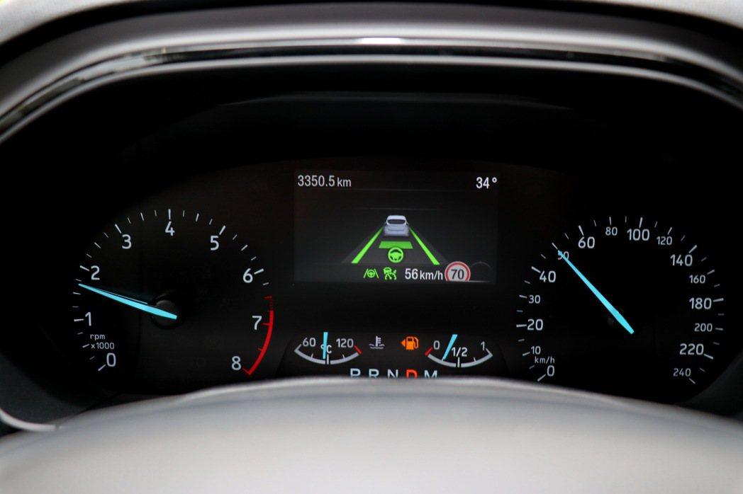 Focus配備Level 2自動駕駛。 記者陳威任/攝影