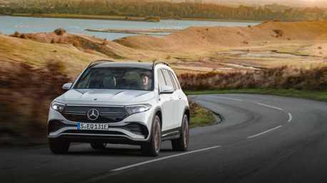 GLB電動兄弟現身慕尼黑 全新Mercedes-Benz EQB七人座純電休旅正式登場!
