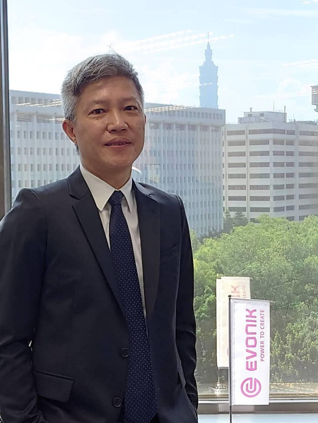 台灣贏創董事長暨亞太區特種添加劑負責人陳偉傑。業者/提供