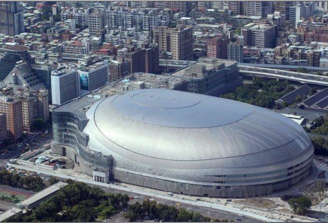 大巨蛋開發案將再度推升「南京、光復商圈」發展。 報系資料庫/提供