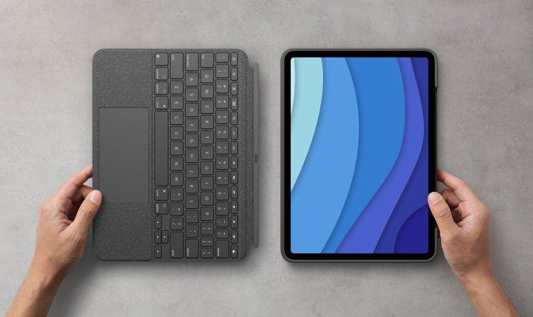 羅技全新升級Combo Touch鍵盤保護殼,專為11吋iPad Pro設計,一...