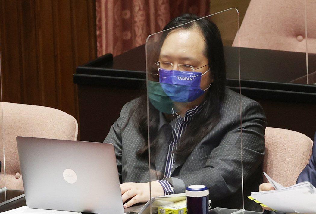 行政院政務委員唐鳳。記者杜建重/攝影