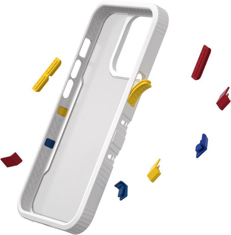 TGVI'S邊框多彩元素,可隨意拆卸、組裝,展現個人獨特風格。圖/TGVI'S提...