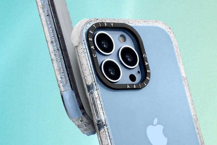 CASETiFY宣布推出以65%環保物料打造的全新iPhone 13系列「防摔再...