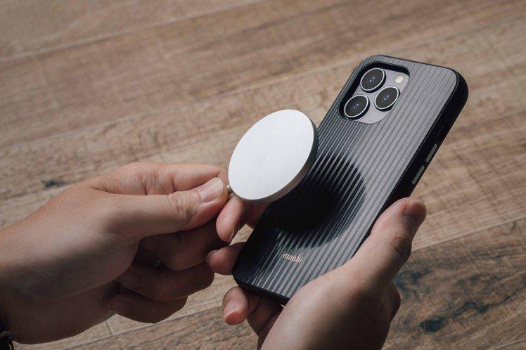Moshi Arx MagSafe磁吸輕量保護殼,支援MagSafe,精準對位全...