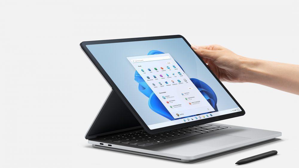 微軟發表專為Windows 11打造的全新Surface及配件。微軟/提供