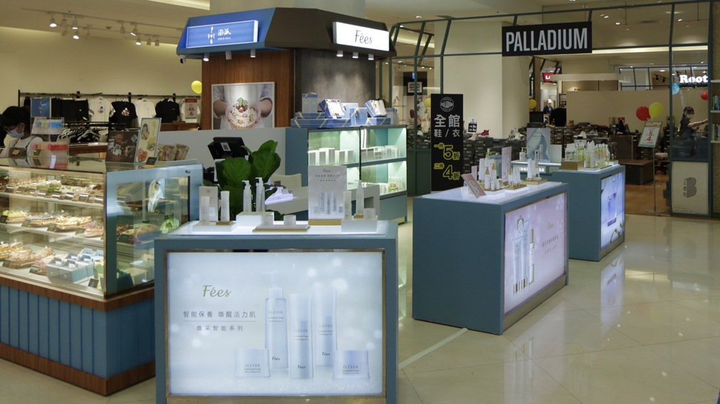 比漾廣場表示,今年秋季改裝,9月第一階段全館共28品牌以新的風貌與顧客見面,包括...
