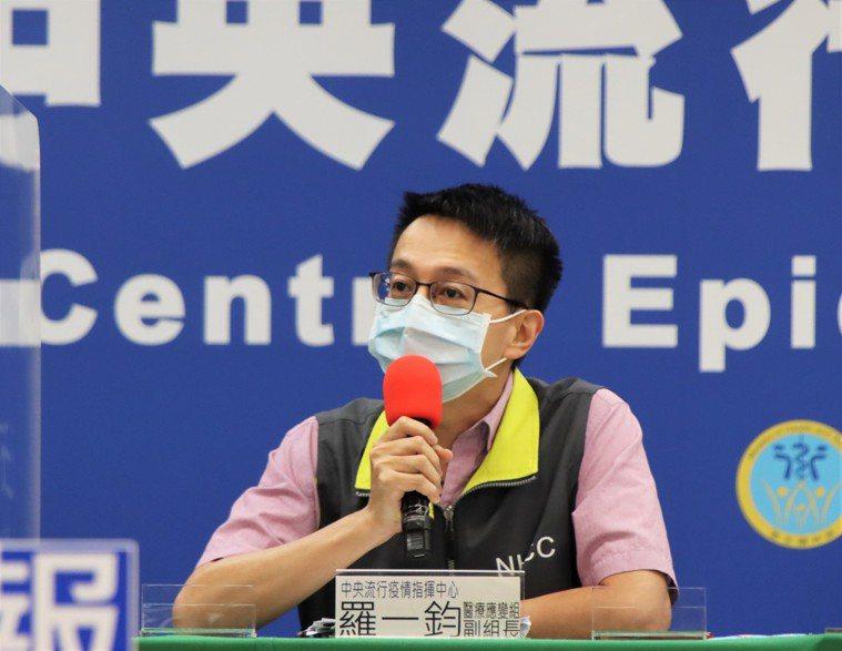 羅一鈞表示,沒有不明感染源個案的時間越久,降級機會越高。圖/指揮中心提供