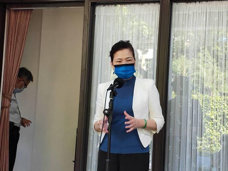 經濟部長王美花。 記者徐偉真/攝影