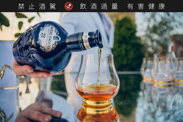 品酩會將提供皇家禮炮完整威士忌風味版圖巡禮。圖/保樂力加提供。提醒您:禁止酒駕 ...