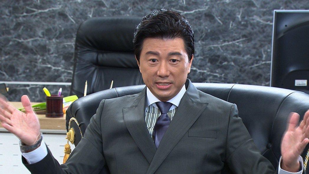 吳皓昇加入「黃金歲月」演出娛樂集團大亨。圖/民視提供