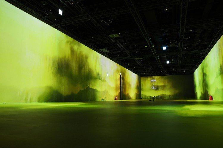 10月7日將在台北101双融域展開新型態沈浸式開幕秀。記者吳致碩/攝影