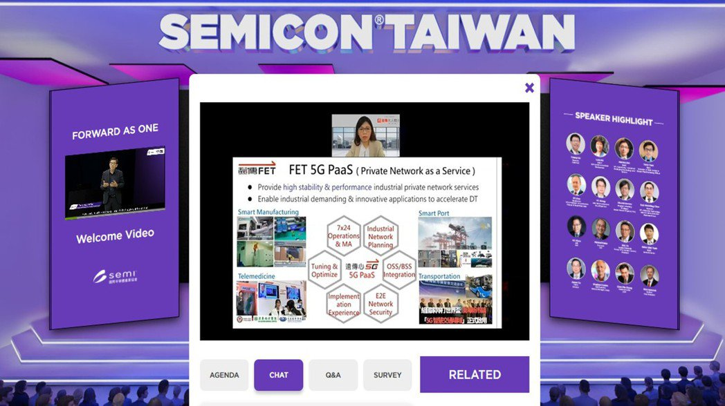 年度科技盛會「SEMICON Taiwan 2021國際半導體展」9月起以五大線...