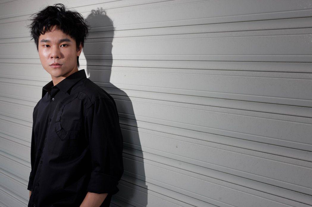 蔡明仁挾帶抖音9億點閱的氣勢推出首張個人專輯。記者李政龍/攝影