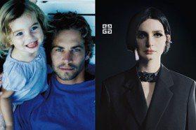 高冷臉大受歡迎!保羅沃克20歲女兒梅朵成時尚寵兒