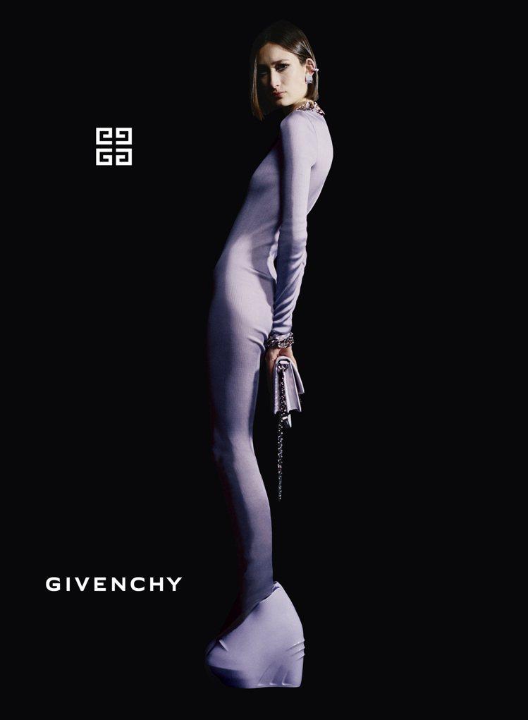 GIVENCHY 2021年秋冬廣告。圖/GIVENCHY提供
