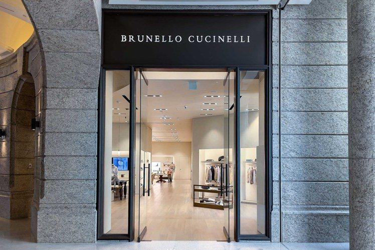 BRUNELLO CUCINELLI位於BELLAVITA寶麗廣場的專門店重新開...