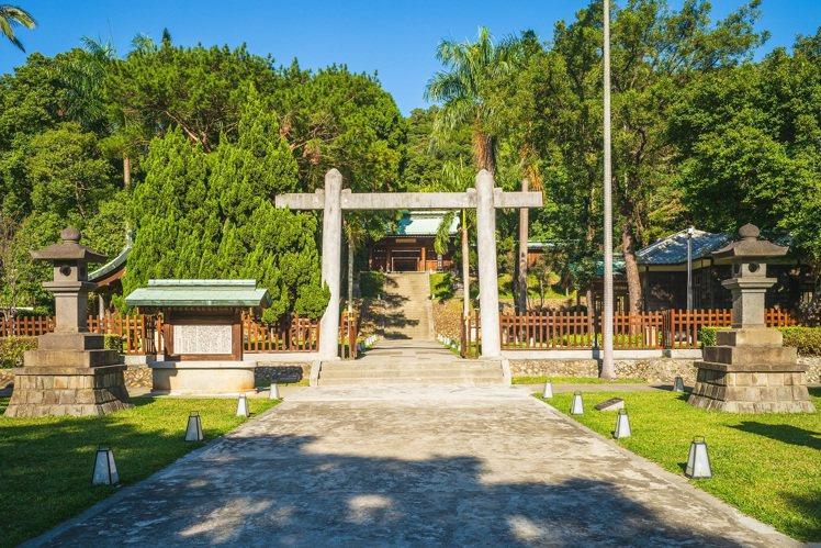 桃園神社忠烈祠。圖/可樂旅遊提供