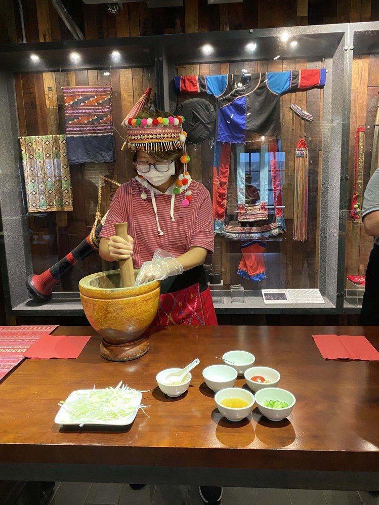 傳統說菜與特色美食DIY。圖/可樂旅遊提供