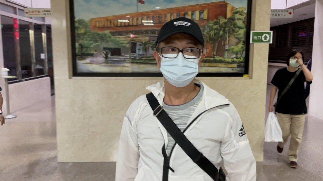 大陸重慶寶亞金融服務公司前負責人蔡東良。記者張宏業/攝影