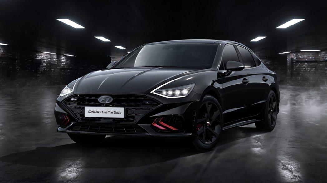 Hyundai Sonata N Line The Black。 摘自Hyund...
