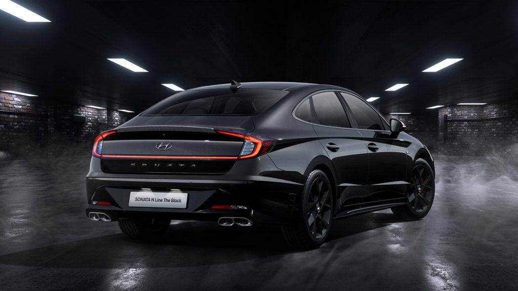 Hyundai Sonata N Line The Black動力與標準版N L...